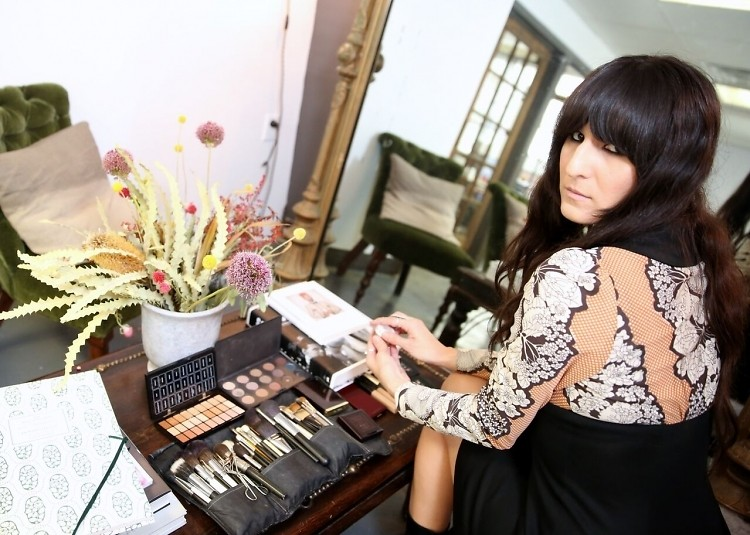 Getting Glam With DJ, Makeup Artist & Photographer Kristin Gallegos