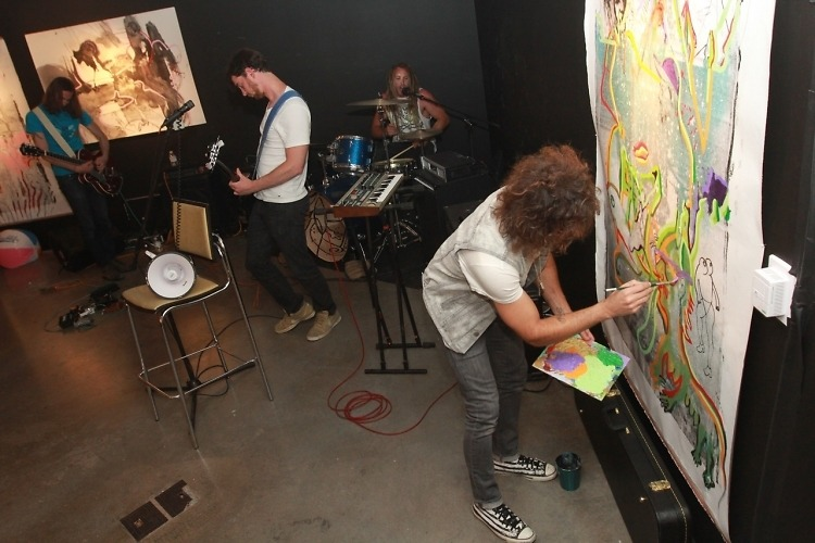 Interview: DRAW US SIN's Todd DiCiurcio Is Merging Art And Music, One Sketch At A Time