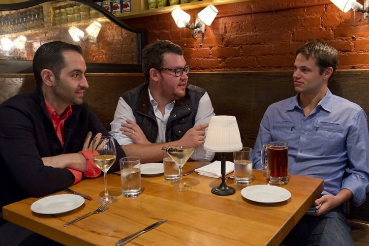 NYC Restaurant Innovators Sponsored By Heineken: Mario Carbone, Rich Torrisi, And Jeff Zalaznick, Michelin Meets Mulberry Street
