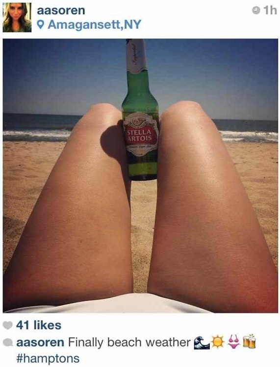 The New #Hamptons Instagram Phenomenon: The Footsie Humble-Brag Shot