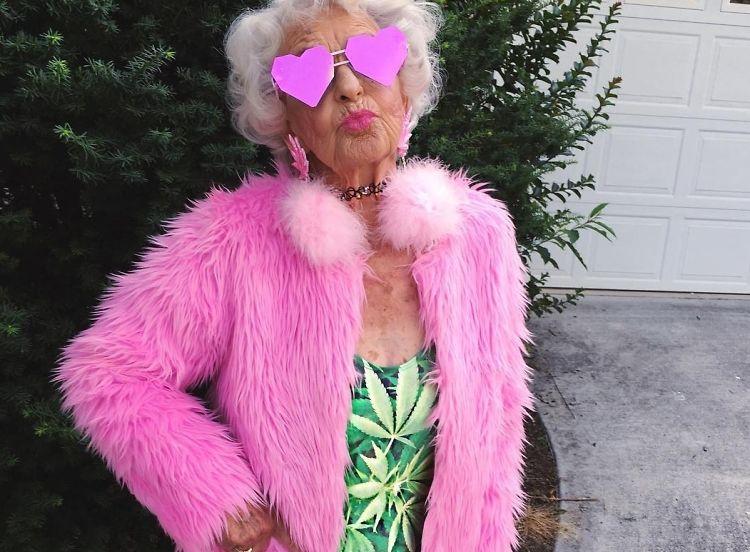 baddie winkle grandma baddest stylish bad instagram baddiewinkle bitches she guestofaguest standard