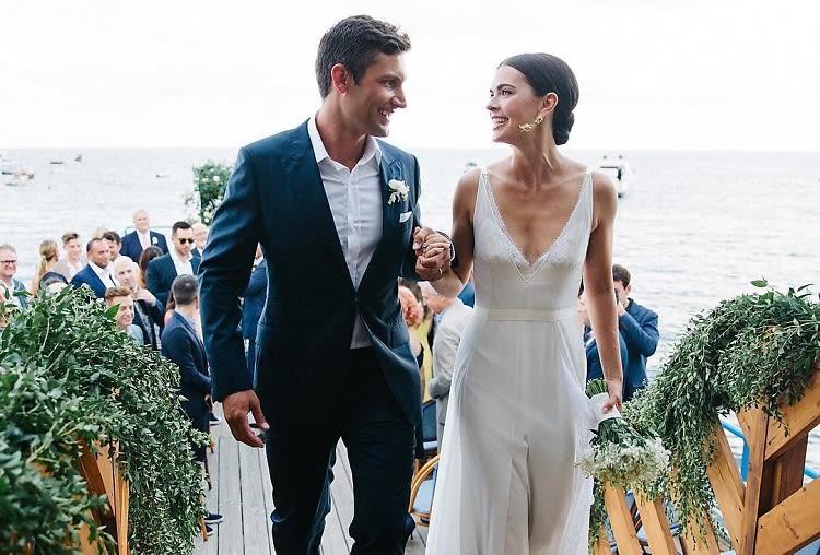 Inside Fabulous Food Star Katie Lee's Seaside Italian Wedding