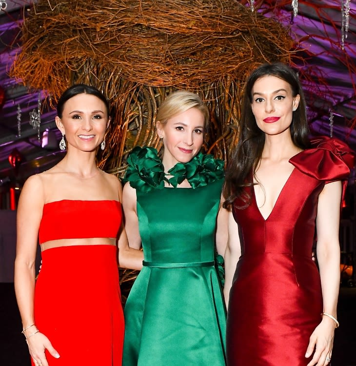 High Society Sparkles At The 2018 NYBG Winter Wonderland Ball