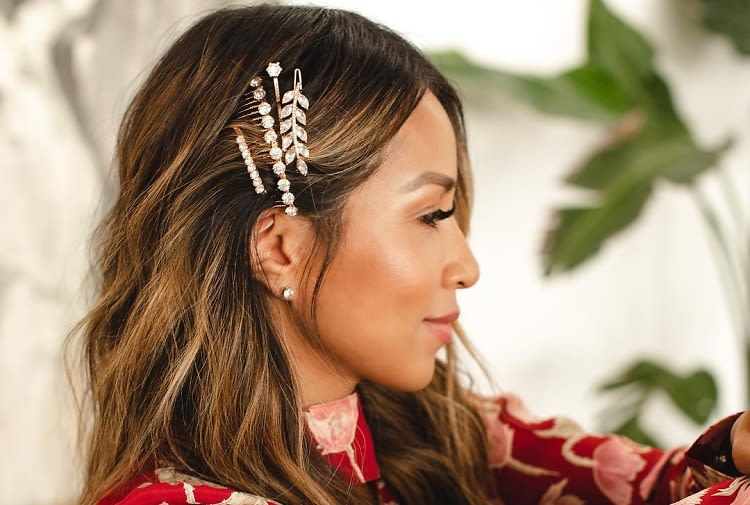 The Chicest Glittering Hair Accessories For New Year's Eve ...