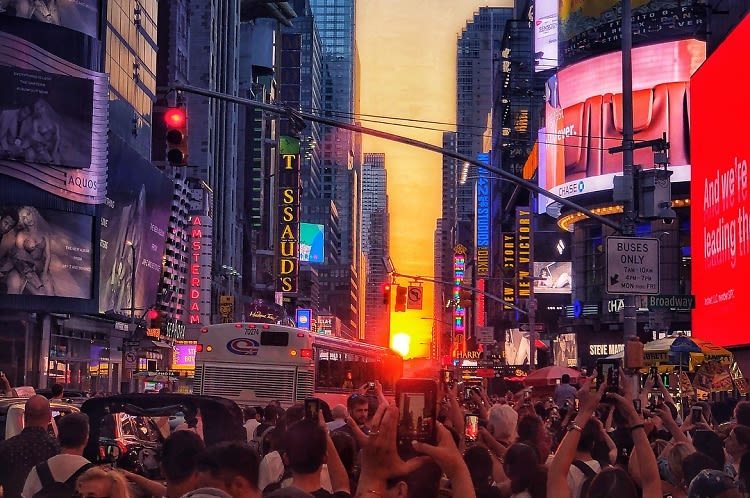 Are You Prepared For Manhattanhenge 2019?