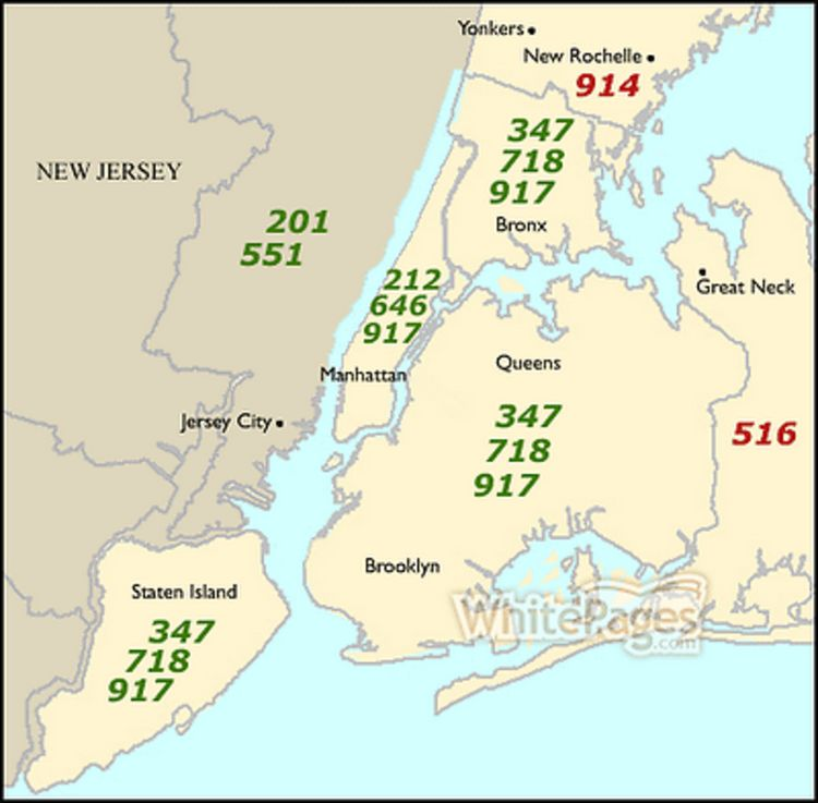 Where Is Area Code 917 On The Map What Your Phone Number Area Code Says About Your Credibility In