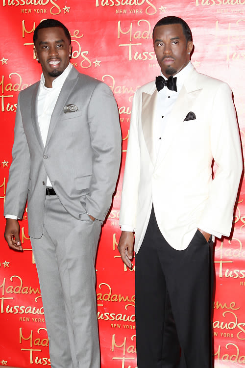 P Diddy Is Madame Tussaud S New Best Dressed Wax Figure