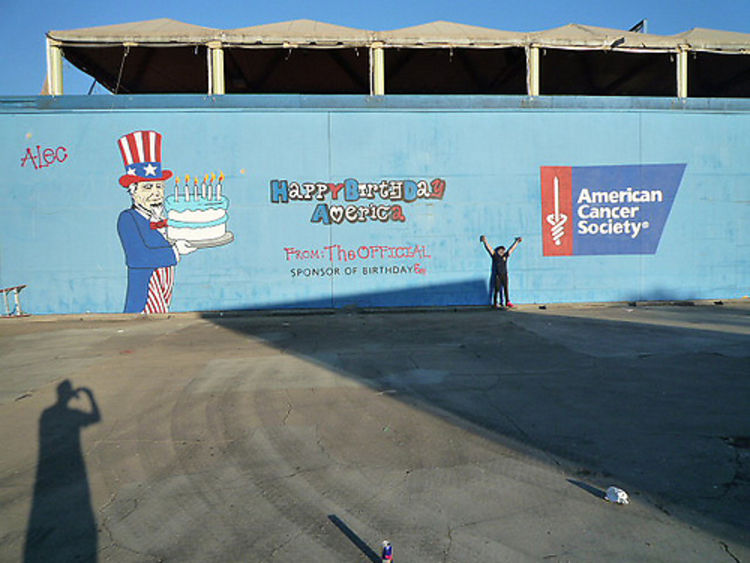 cf7bf5d37663 Photo Of The Day  Alec Monopoly Graffitied D.C. For A Good Cause