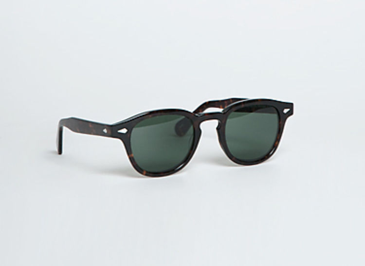 82da9f72161 David Beckham in Moscot Lemtosh Sunglasses in tortoise with