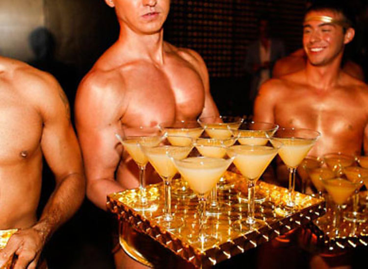 recent takeover by top less gay clubs