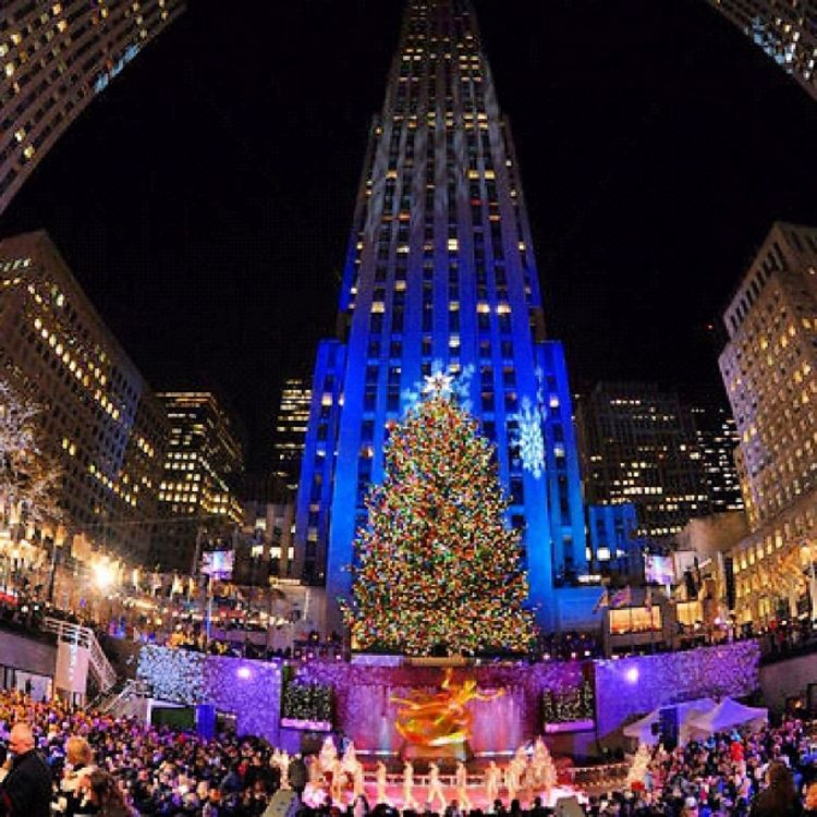 Rockefeller Center Christmas Tree Lighting Performers: Photo Of The Day: Rockefeller Center Tree Lighting Kicks