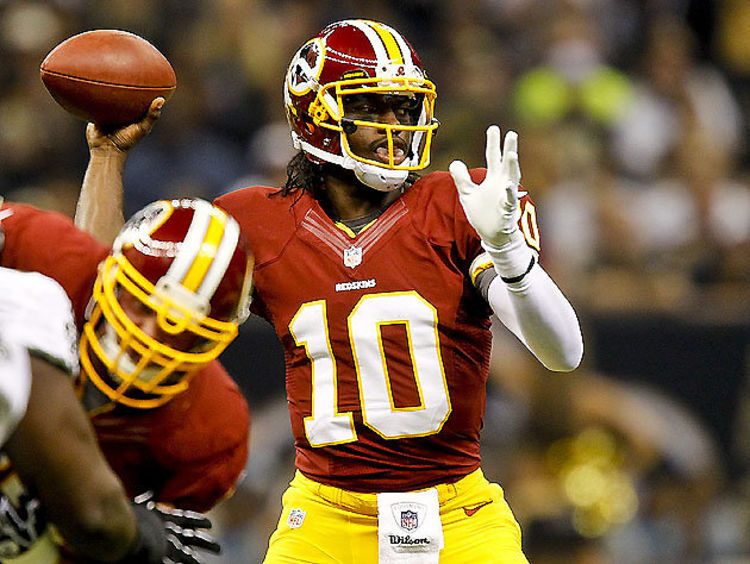RGIII #10 Jersey Is Crushing NFL Sales Records