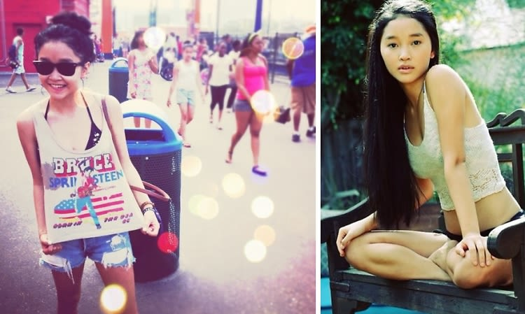 daily style phile  could lana condor be the next jennifer