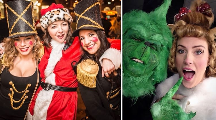 Santacon 2015 8 Classic Holiday Character Costumes To Diy