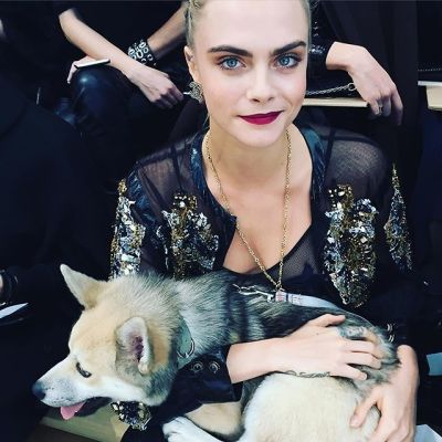 cara delevingne in The Best Moments From The Chanel Spring 2016 Couture Show