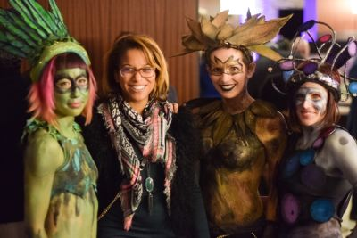 morgan fykes in Nouvelle Tysons Hosts Mardi Gras Celebration