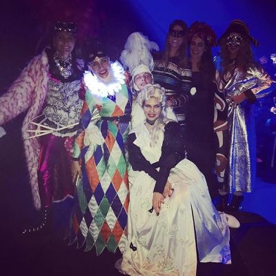dasha zhukova in Margherita Missoni Celebrates Her Birthday With A Carnival Themed Party In Venice
