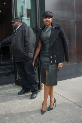 jennifer hudson in New York Fashion Week Street Style: Day 2