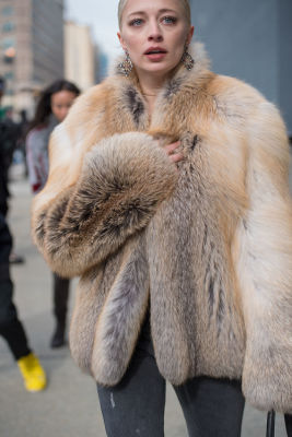 caroline vreeland in New York Fashion Week Street Style: Day 2