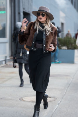 danielle bernstein in New York Fashion Week Street Style: Day 3