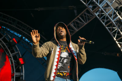 adollarap ferg in Shaun White's AIR + STYLE Los Angeles Festival
