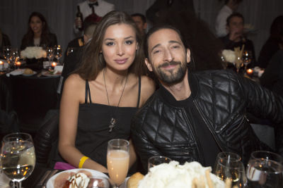 adrien brody in Diesel Madison NYFW After Party