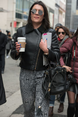 New York Fashion Week Street Style: Day 1