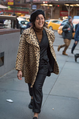 rachel wang in New York Fashion Week Street Style: Day 1