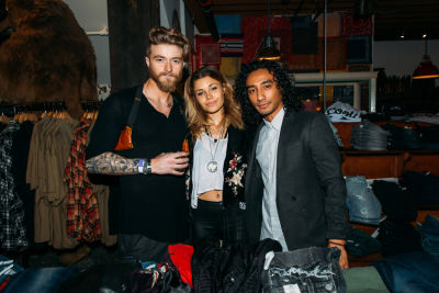 ellie patrikios in PRPS Spring Collection Launch Event At American Rag Cie