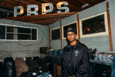 manny payso in PRPS Spring Collection Launch Event At American Rag Cie