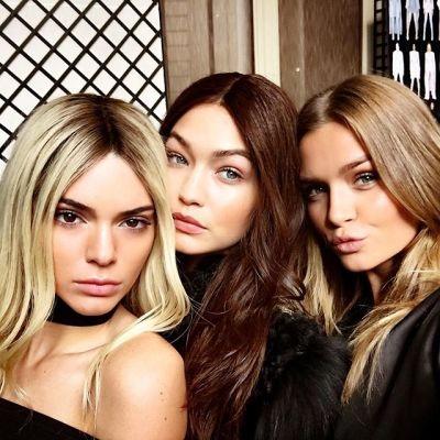 Kendall Jenner, Gigi Hadid, Josephine Skriver