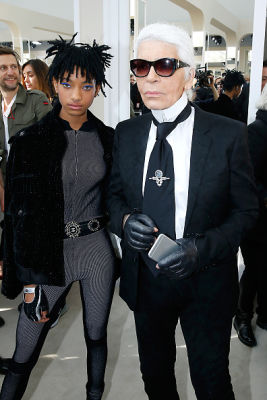 Willow Smith, Karl Lagerfeld