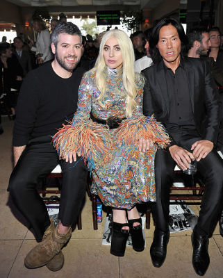 Brandon Maxwell, Lady Gaga, Stephen Gan
