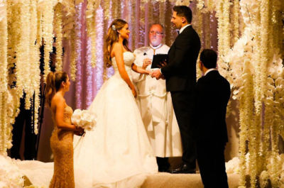 sophia vergara in Our Favorite Weddings from the Past Decade