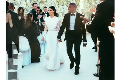 kanye west in Our Favorite Weddings from the Past Decade