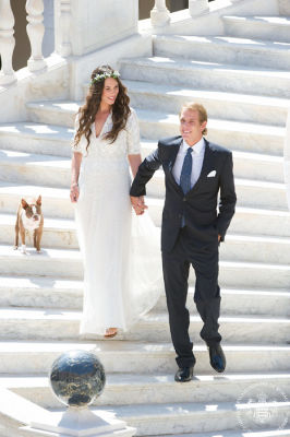 andrea casiraghi in Our Favorite Weddings from the Past Decade