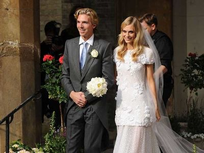 poppy delevingne in Our Favorite Weddings from the Past Decade
