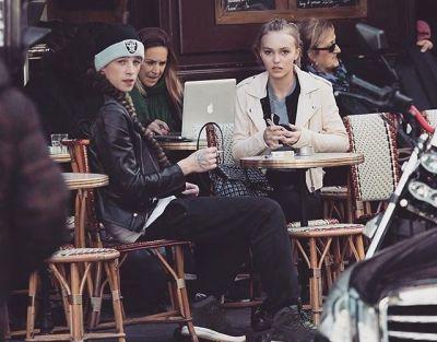 Ash Stymest, Lily-Rose Depp