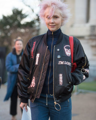 curtis mayhem in Paris Fashion Week: 50 Must-See Street Style Photos