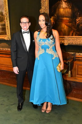 matthew coco in Best Dressed Guests: The Most Glam Gowns At The Frick Collection's Young Fellows Ball 2016