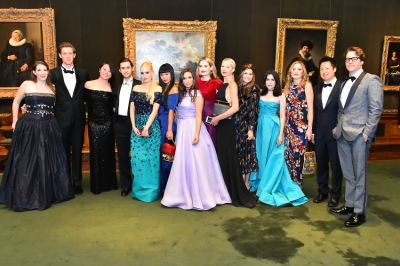 philip devereux-demetriad in Best Dressed Guests: The Most Glam Gowns At The Frick Collection's Young Fellows Ball 2016