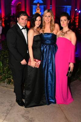 stephen powers in Best Dressed Guests: The Most Glam Gowns At The Frick Collection's Young Fellows Ball 2016