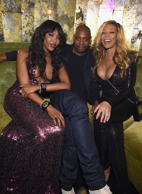 Naomi Campbell, Dave Chappelle, Wendy Williams