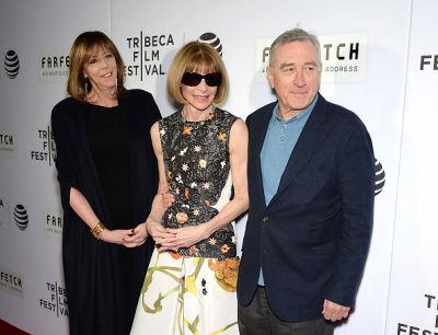 Jane Rosenthal, Anna Wintour, Robert De Niro