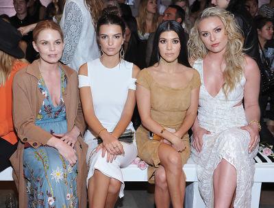 Jennifer Morrison, Emily Ratajkowski, Kourtney Kardashian, Lindsey Vonn