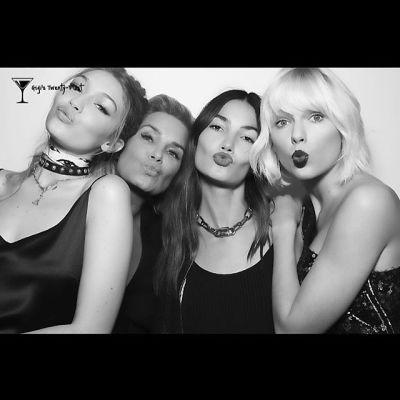 Gigi Hadid, Yolanda Foster, Lily Aldridge, Taylor Swift