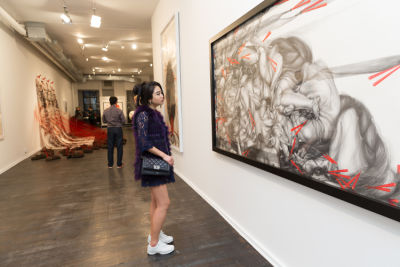 lulu young in Contemporary Artist Hui Chi Lee Debuts 'Lian : Lian' Exhibit