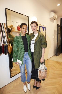 garance dore in Cocktails at Clare V. Cobble Hill Store