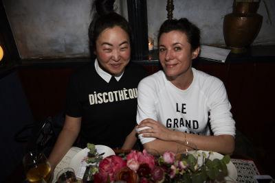 garance dore in Bingo Dinner at June Wine Bar