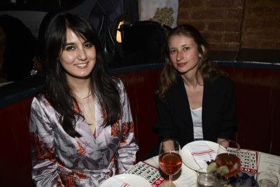 irina aleksander in Bingo Dinner at June Wine Bar